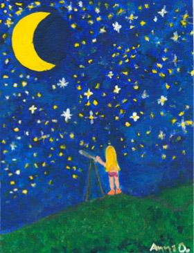 Stargazing by Anna Orebic